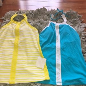 Lulu lemon work out shirts size 6 new with tags